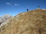 Via Normale Monte Chiadin - In vetta