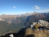 Via Normale Monte Chiadin - Dalla vetta verso Coglians