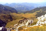 Via Normale Monte Alben - La conca prativa dell'Alben