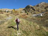Via Normale Monte Vallazza - Al bivacco Le Prese