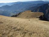 Via Normale Monte Vallazza - Pendio finale
