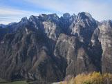 Via Normale Costa Soracase - Verso i Monti del Sole
