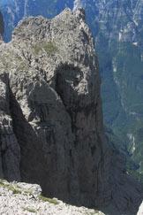 Via Normale Punta Riccardo Bee / Torre dell´Angolo Grande - Cresta finale dal Van del Burel