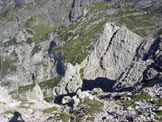 Via Normale Punta Riccardo Bee / Torre dell´Angolo Grande - Dalla vetta verso alta Val Ru da Molin