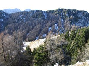 Via Normale Monte Slenza Est