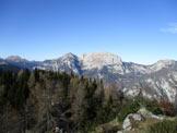 Via Normale Monte Slenza Est - Panorama dalla cima