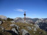 Via Normale Monte Slenza Est - La cima dello Slenza Est
