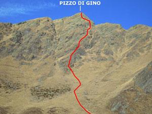 Via Normale Pizzo di Gino – sperone S