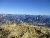 Via Normale Colle dei Larici - altro panorama dalla cima