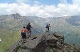 Via Normale Monte Palù - Passaggio in cresta