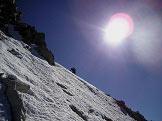 Via Normale Cima di Lago Nero - Il pendio in prossimità della cima