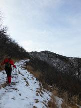 Via Normale Monte Gambarogno - Traverso sotto l´anticima