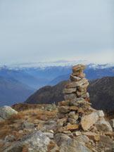 Via Normale Monte Gambarogno - Omino di vetta