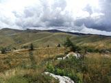 Via Normale Monte Castelberto - Il panorama verso Monte Tomba
