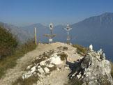 Via Normale Monte Bestone - La cima del Bestone