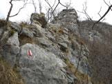 Via Normale Col del Gallo - Cresta di San Giorgio - Penultimo salto