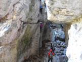 Via Normale Pale di Mezzocorona - Burr. Giovanelli - Cascate