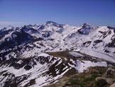 Via Normale Monte  Mondolè - disgelo primaverile nella valle sottostante