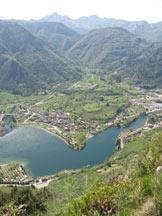 Via Normale Dosso Sassello - Vista sul lago d´Idro