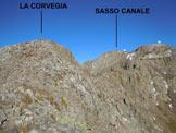 Via Normale La Corvegia - da Est - A pochi metri dalla cima