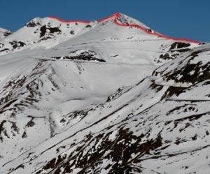 Via Normale Monte Dasdana