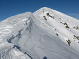 Via Normale Monte Dasdana - Lungo la cresta
