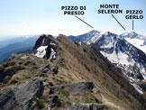 Via Normale Cima d'Assola (o Cima della Zocca) - Panorama di vetta, verso SE