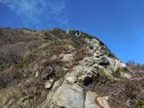Via Normale Monte Piscino - Lungo la facile cresta NE del Monte Piscino