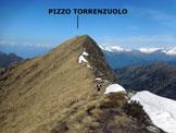 Via Normale Pizzo Torrenzuolo - L'elementare cresta SE del Torrenzuolo