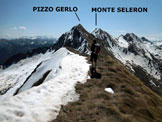 Via Normale Pizzo Torrenzuolo - Panorama di vetta