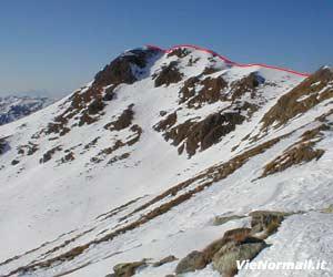Via Normale Monte Dasdana W
