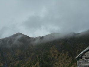 Via Normale Pizzo Peloso (cresta NE)