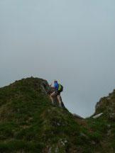 Via Normale Pizzo Peloso (cresta NE) - Passo della Maggia