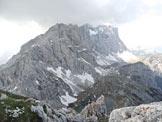 Via Normale Cima di Coldai - Vers. Est - panorama della Civetta dalla cima