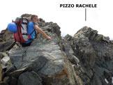 Via Normale Pizzo Rachele - Immagine ripresa dall'anticima