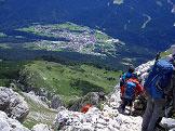 Via Normale Piz Galin - Lago di Molveno