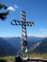 Via Normale Monte Fertazza - La croce di vetta