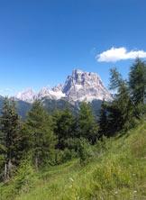 """Via Normale Monte Fertazza - Il Pelmo, dalla """"seconda"""" cima"""