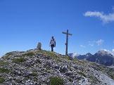 Via Normale Cima Lasteri e Croz dell´Altissimo - La croce di vetta