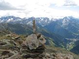 Via Normale Cima delle Graole - Panorama dalla cima