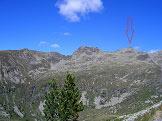 Via Normale Rauchkofel/Monte Fumo  - parte della Cresta di Pojen con la cima