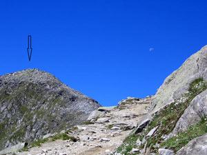 Via Normale Punta Val di Frane/Schuttalkopf