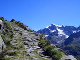 Via Normale Punta Val di Frane/Schuttalkopf - Vista sul Picco dei tre signori