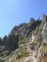 Via Normale Monte Gruppo/Grubbachspitze - In prossimità della cima