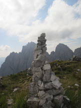 Via Normale Monte Flop - Altro panorama dalla cima del Flop Ovest