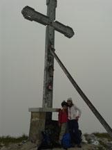 Via Normale Cima la Croce - Croce di vetta