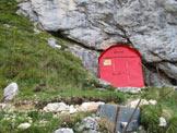 Via Normale Veliki Baba (Baba Grande) - Veduta del Bivacco Costantini (ex CAI-Manzano)