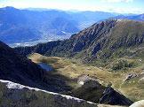 Via Normale Cima del Frate - La Val di Rava con la Valsugana sullo sfondo