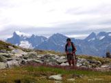 Via Normale Rauchkofel/Monte Fumo di Predoi - Vista sul Pizzo Rosso di Predoi