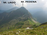 Via Normale Monte Azzarini (o Fioraro) - vers. W - Panorama di vetta, verso N